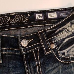 Miss Me Jeans - MISS ME Sz 26 skinny NWOT